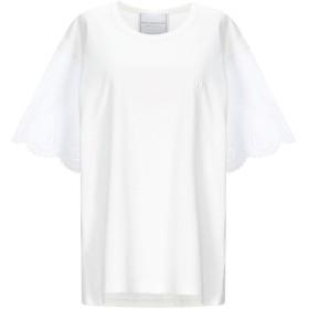 《期間限定セール開催中!》PHILOSOPHY di LORENZO SERAFINI レディース T シャツ ホワイト XS コットン 100%