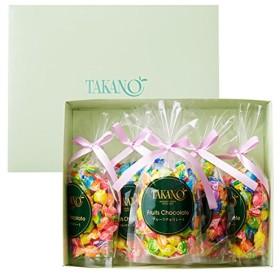新宿高野 フルーツチョコレート5入EA (ギフト セット) 贈り物 [内祝い/手土産/プレゼント/バレンタイン] 7種類のフルーツ 5袋入り