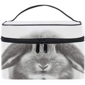 化粧ポーチ メイクポーチ コスメポーチ かわいい Big Rabbit小物入れ おしゃれ レディース 機能的 ギフト プレゼント
