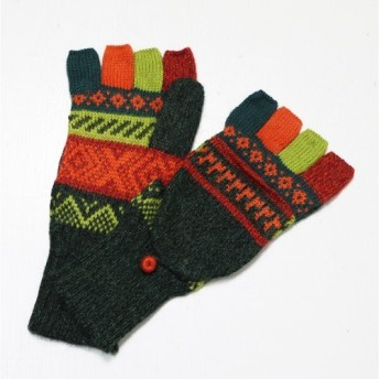 アルパカ ミトン手袋GU AU977N