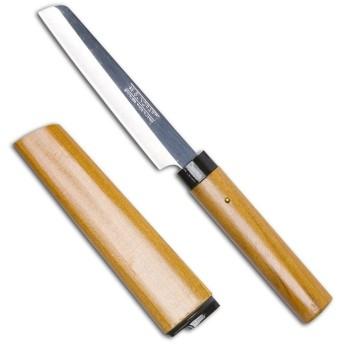 サンクラフト サンクラフト 木鞘付フルーツナイフ 角型 429