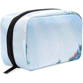 CW-Story 水中 化粧ポーチ トイレタリーバッグ 収納ケース メイク収納 小物入れ 仕分け収納 大容量 出張 旅行用