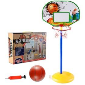 バスケットおもちゃセット 立て式 高さ調整可能 室内屋外兼用 バスケットボールキット バスケットボール&エアポンプ付き 子供 おもちゃ プレゼント