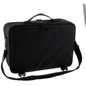 化粧ポーチ メイクアップ オーガナイザー 収納ケース 収納バッグ 3層 メイク道具 化粧品 収納ポーチ 2タイプ選べる - b