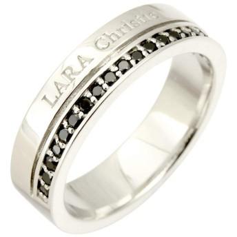 [ララクリスティー] LARA Christie トラディショナル シルバー リング 指輪 [ BLACK Label ] 21号 cr3867-b-21