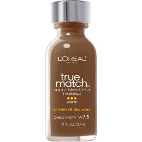 L'Oréal True Match Super-Blendable Foundation Makeup (DEEP WARM)