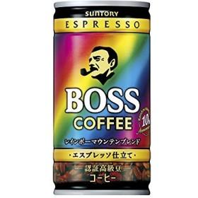 サントリー ボス レインボーマウンテンブレンド 185g 1ケース(30本)