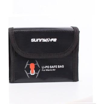 PENIVO 3個のバッテリー 安全バッグ,Lipo バッテリー ケース 電池 輸送 爆発防止 DJI Mavic Air 用 アクセサリー 保護 収納袋 (L)