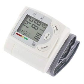 血圧計 デジタル手首式血圧計 手首血圧カフモニター 大画面 血圧モニター 手首血圧計
