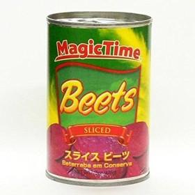 スライス ビーツ(赤かぶ)425g×12個セット/Sliced Beets Magic Time[USA産]