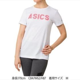 【1点までメール便可】 [asics]アシックス レディース トレーニングウェア W GPX 半袖Tシャツ (2032A945)(100) ブリリアントホワイト[取寄商品]