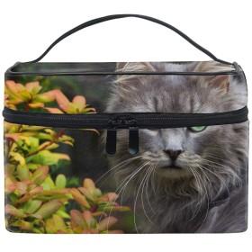 ネココスメポーチ 化粧収納バッグ レディース 携帯便利 旅行 誕生日 プレゼント