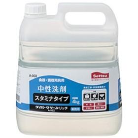 【ケース販売】業務用中性洗剤 ダイバークリーンリッチ 4㎏×4本