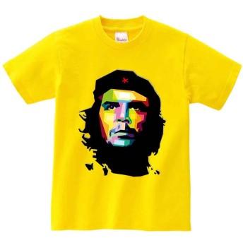 レトロ チェ ゲバラ イエロー XXXLサイズ メンズ 半袖 Tシャツ