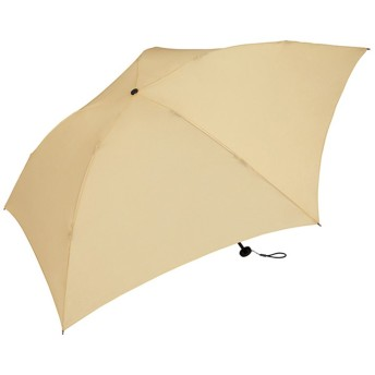 ワールドパーティー(Wpc.) 雨傘 折りたたみ傘 ベージュ 55cm レディース メンズ ユニセックス 超軽量76g MSK55-049