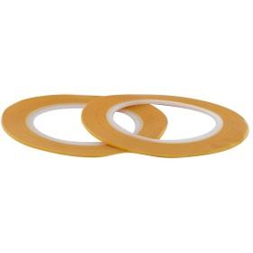 MODELCRAFT 2本セット1 mm精密マスキングテープ、プラスチック、黄色、2枚組