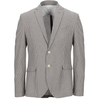 《セール開催中》BICOLORE メンズ テーラードジャケット ブラック 48 コットン 50% / ポリエステル 50%