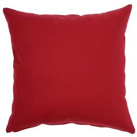 クッションカバー 選べる30色 オックス織り 綿(コットン)100%(幅60cm×丈60cm)オータムレッド