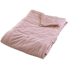 真綿肌ふとん 無地【ピンク】 150×210cm シングルロング 洗える オールシーズン (ピンク)