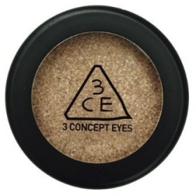 3 Concept Eyes - One Color Shadow - Sparkling Gold Shower