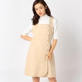 [マルイ]【セール】ガーリーサイドボタンジャンパースカート/ロディスポット(LODISPOTTO)