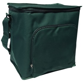 Green Earth Bags GEB Durable Reusable Thermal Cube Tote Bag, 12 H x 12 W x 8.5 D, Forest Green by Green Earth Bags