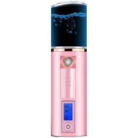 ナノスプレー水道メーター40 ml大容量、肌コールドスプレーポータブル保湿美顔機器@ファンを検出できます,Pink,4040145mm