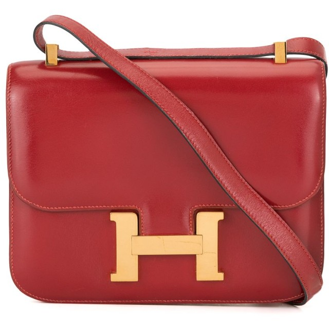 Hermès Pre-Owned Constance ショルダーバッグ - レッド