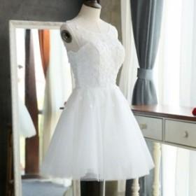 ドレス 結婚式 お呼ばれ ミモレ丈 花嫁 20代 ウエディングドレス ミニドレス カラードレス パーティードレス 二次会 kuqun8283799