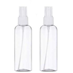 Poonikuu詰め替え容器 ボトル 容器 おしゃれ スプレーボトル スプレーボトル霧吹き スプレー 容器 携帯 2個セット 100MLずつ ホワイト