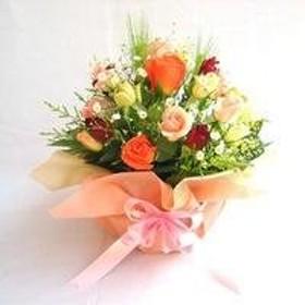 バラのアレンジメント ゴールド【生花】【お祝い】【記念日】【誕生日】【フラワーギフト】【バラ】