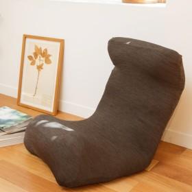 窓美人 ラッキークローバー 伸縮 座椅子カバー チェアカバー ビターチョコレート 伸縮自在でしっかりフィット 撥水 防汚 洗濯可