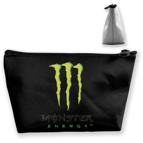 Monster Energy モンスターエナジー ポーチ 小物入れ 化粧収納バッグ コスメポーチ メイクポーチ 携帯便利 旅行 誕生日 プレゼント 男女兼用