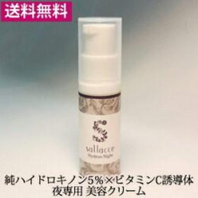 サラッセ ハイドロンナイト 6g (夜専用美容クリーム)