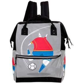 CHENYINAN リュックサック リュック 学生 レディース ボール柄 サッカー メンズ 大容量 マザーズバッグ がま口 バックパック 通勤通学 デイバッグ かわいい おしゃれ