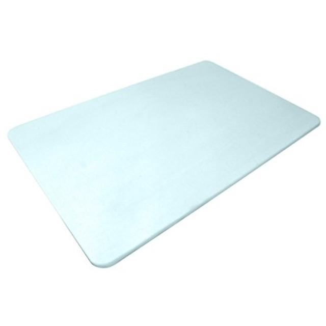 WEIMALL 珪藻土バスマット 60cm 珪藻土 バスマット Lサイズ (ブルー)
