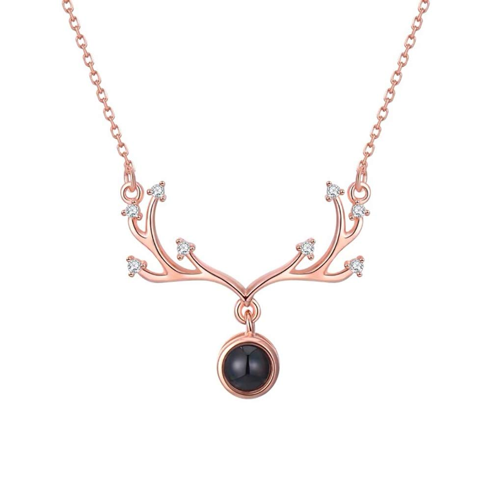 Cocobanana Womens Necklace Cubic Zirconia Station Necklaces for Girls