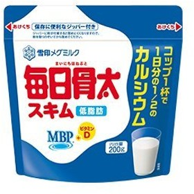 雪印メグミルク 毎日骨太MBPスキム 200g×5袋