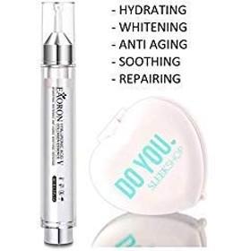 Eaoron ヒアルロン酸コラーゲンエッセンス(なめらかなコンパクトミラー付き)V、ハイド、美白、老化防止、スージング、修復III 0.34オンス/ 10ミリリットル