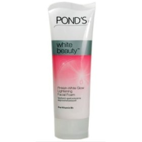 Pond's White Beauty Facial Foam Face Wash Lightening Acne Scrub Cleanser 50g (Ship from India)