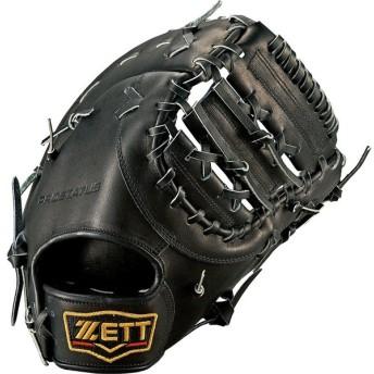 ZETT(ゼット) 硬式ファーストミット プロステイタス 一塁手用 BPROFM43 ブラック