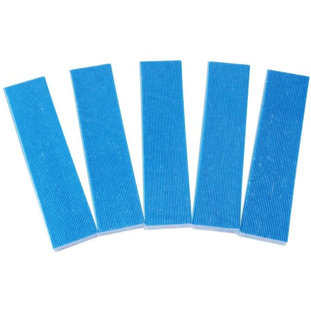 空気清浄機フィルター 空気清浄機交換用 集塵プリーツフィルター 対応品番:KAC006A4と後継品:KAC017A4 (汎用型/5枚入り) 交換用集塵フィルター