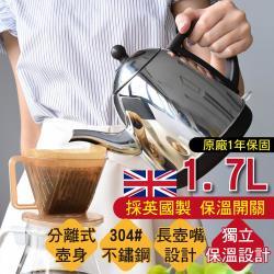 G+ 居家 MIT 不鏽鋼超快速電茶壺(1.7L)