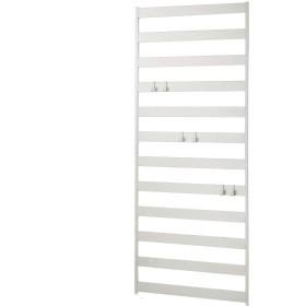 [ベルメゾン] 壁面ユニット スチール ラダー ラック つっぱらない ホワイト 幅80.5cm