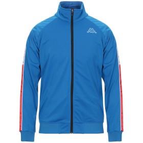 《期間限定セール開催中!》KAPPA メンズ スウェットシャツ ブライトブルー L ポリエステル 100%