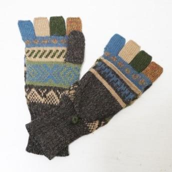 アルパカ ミトン手袋GU AU975N