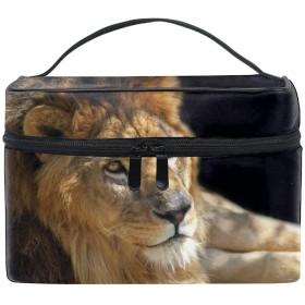 レディースライオン 小物入れケース 化粧ポーチ 小物用収納ポーチ 化粧品収納袋