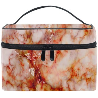 大理石の模様メイクボックス コスメ収納 トラベルバッグ 化粧 バッグ 高品質