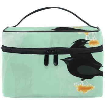 Anmumi 化粧ポーチ メイク ポーチ ボックス 収納ケース 仕切り 手提げ ガラス 大容量 かわいい おしゃれ レディース 女の子 機能的 小物入れ 旅行 出張 プレゼント