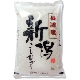 新米 新潟県産 長岡産コシヒカリ 白米 5kg 令和元年産